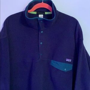 Patagonia means sweater shirt